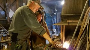 04 APRIL – Advanced Blacksmithing / Monday Afternoon / 1-5